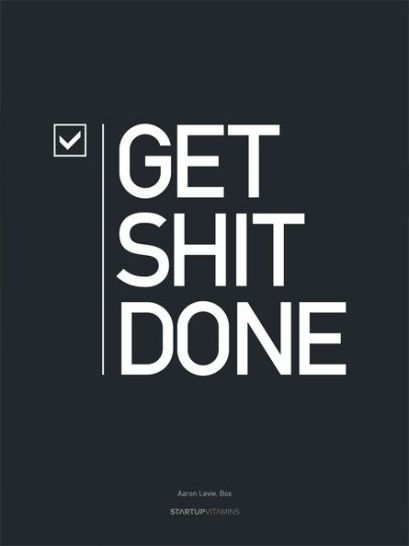 get done