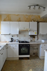The old kitchen which we will be removing very shortly!